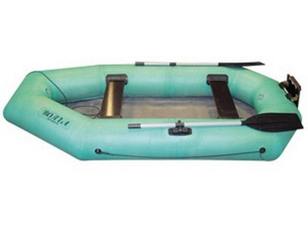 лодка с резиновыми бортами